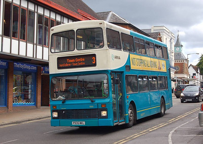 Arriva 5935 (P935MKL), Guildford, 30th July 2012