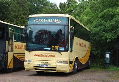 York Pullman FFK312, Yorkshire Sculpture Park, 22nd June 2012