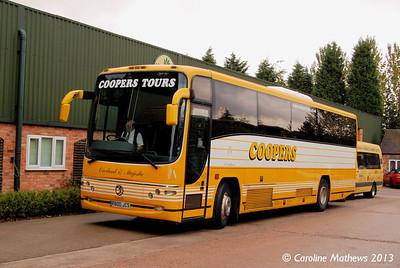 Coopers R800JCS, Statfold Barn, 14th September 2013