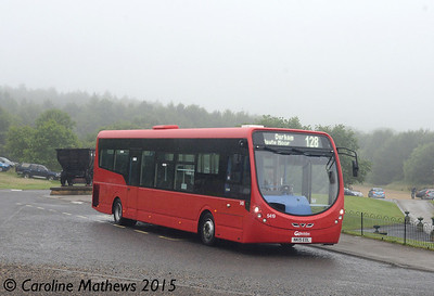 Go North East 5419 (NK15EOL) Beamish, 4th July 2015
