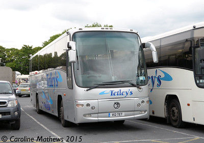 Tetley's V12TET, Charnock Richard Services, 24th July 2015