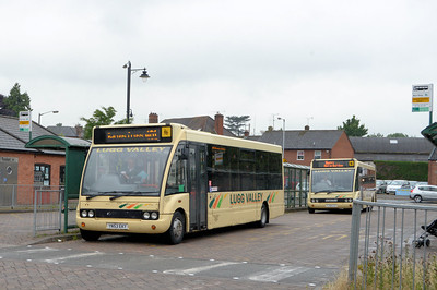 Lugg Valley 112 (YJ53EKY), Leominster, 24th July 2015