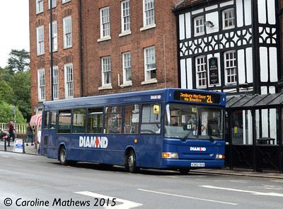 Diamond 30383 (V383SVV), Bewdley, 27th July 2015
