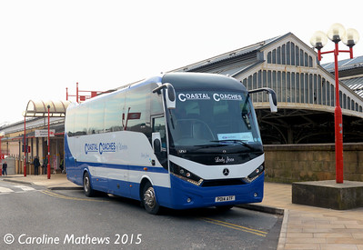 Coastal Coaches PO14ATF, Preston Station, 7th March 2015
