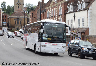 Ross Travel Group T9RTG, Bewdley, 27th July 2015
