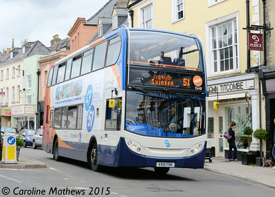 Stagecoach 15648 (VX10FRK), Cirencester, 27th July 2015