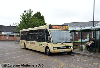 Lugg Valley 125 (YJ58CCY), Leominster, 24th July 2015