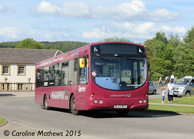 Go North East 4959 (NL52WVP), Beamish, 4th July 2015