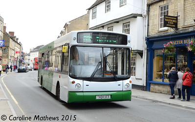 Cotswold Green T404UCS, Cirencester, 27th July 2015