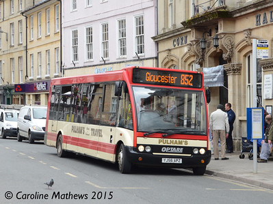 Pulhams YJ56APZ, Cirencester, 27th July 2015