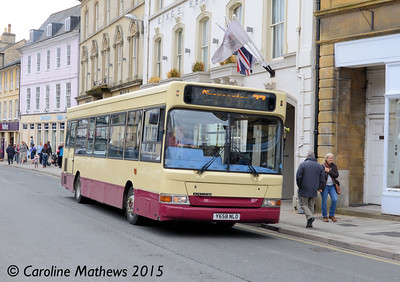 APL Travel Y658NLO, Cirencester, 27th July 2015