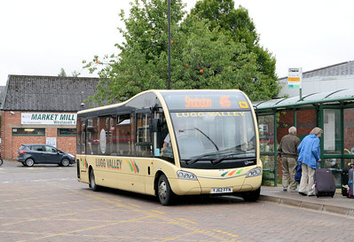 Lugg Valley 127 (YJ62FFN), Leominster, 24th July 2015