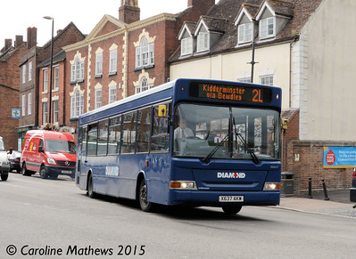 Diamond 30637 (X637AKW), Bewdley, 27th July 2015
