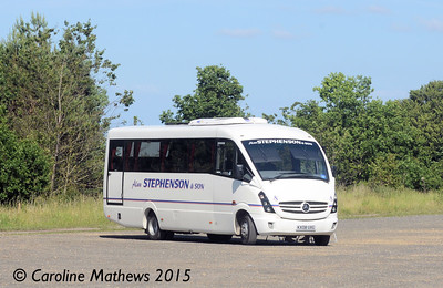 Alan Stephenson & Son KX08UXG, Beamish, 4th July 2015