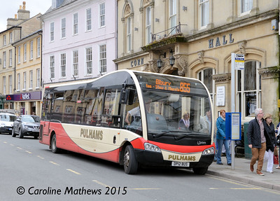 Pulhams DP12BUS, Cirencester, 27th July 2015