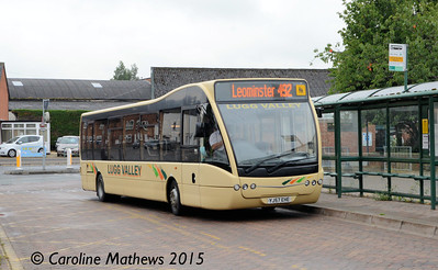 Lugg Valley 123 (YJ57EHE), Leominster, 24th July 2015