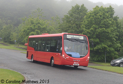 Go North East 5419 (NK15EOL), Beamish, 4th July 2015