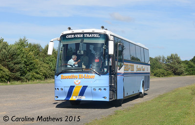 Gee-Vee Travel P1GVT, Beamish, 4th July 2015