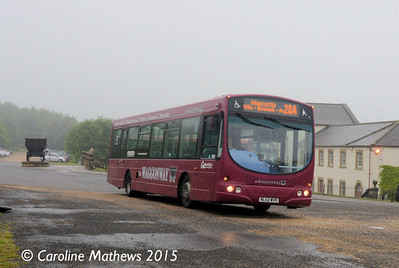 Go North East 4960 (NL52WVR), Beamish, 4th July 2015