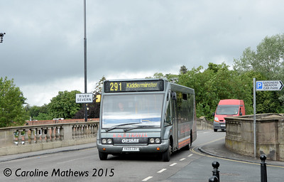 R & B Travel YK05CBY, Bewdley, 27th July 2015