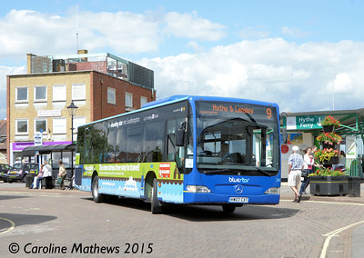 Blue Star 2453 (HW07CXT), Hythe, 25th July 2015