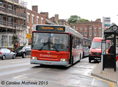 Central Buses EU06WGM, Bewdley, 27th July 2015