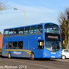 Whippet WD436 (LK54FLF), Huntingdon, 8th January 2016