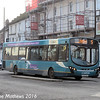 Arriva Midlands 3784 (FL63DXS), High Street, Newport, 19th January 2016