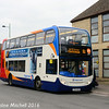 Stagecoach 15974 (YP14GZD), South Way, Cirencester, 7th October 2016
