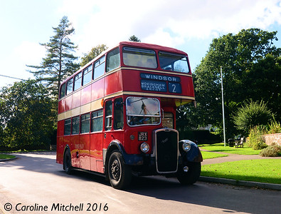 Thames Valley 748 (JRX823), Chawton, 2nd October 2016