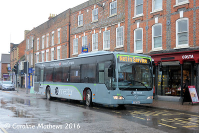 Oxford Bus Company 865 (FF57OXF), Wantage, 22nd January 2016
