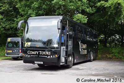 Comfy Tours ST02GDV, Quarry Bank Mill, Styal, 17th June 2016