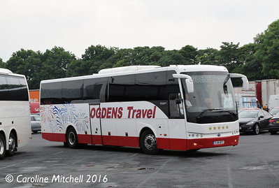 Ogdens YJ14BYT, Charnock Richard, 10th June 2016