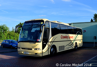 Crawley Luxury Coaches L6CLC, Petworth, 31st July 2016