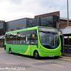 Buses Excetera RX12DZA, Commercial Road, Guildford, 7th October 2016