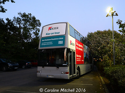 Commbus W575RSG, Premier Inn, Crow Lane, Northampton, 29th September 2016
