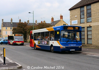 Stagecoach 34885 (VU06JBY), South Way, Cirencester, 7th October 2016