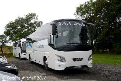 AAA Coaches SS63AAA, Northumberlandia, 23rd July 2016