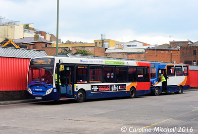 Stagecoach 36434 (GX61AYN), Guildford Bus Station, 7th October 2016