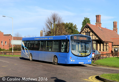 Whippet WS312 (X473AHE), Huntingdon, 8th January 2016