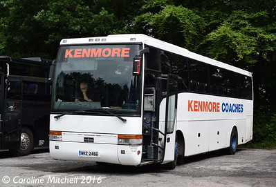 Kenmore WKZ2466, Quarry Bank Mill, Styal, 17th June 2016
