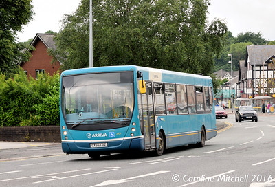 Arriva North West 2609 (CX56CDZ), Watling Street, Northwich, 17th June 2016