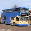 Whippet WD414 (V184OOE), Huntingdon, 8th January 2016