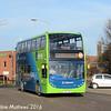 Stagecoach 15199 (YN64ANR), Princes STreet, Huntingdon, 8th January 2016