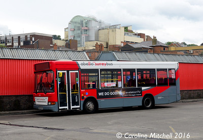Abellio 8029 (BU05HFD), Guildford Bus Station, 1st August 2016