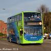 Stagecoach 15216 (YN15KHU), Princes Street, Huntingdon, 8th January 2016