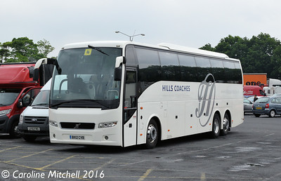 Hills BX12CVB, Charnock Richard, 10th June 2016