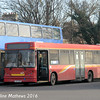 Whippet WS322 (LK03NKM), Huntingdon Bus Station, 8th January 2016
