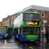 Thames Travel 914 (OU08HGO) and 703 (YJ10MFF), Wantage, 22nd January 2016