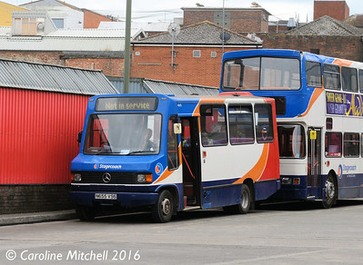 Stagecoach 40655 (N655VSS), Guildford Bus Station, 1st August 2016